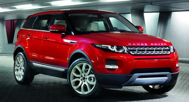Land rover range rover evoque named north american truck for Baker motor company land rover