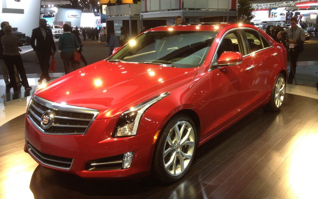 Vanity fair calls cadillac ats the most exciting car at for Cadillac motor car company