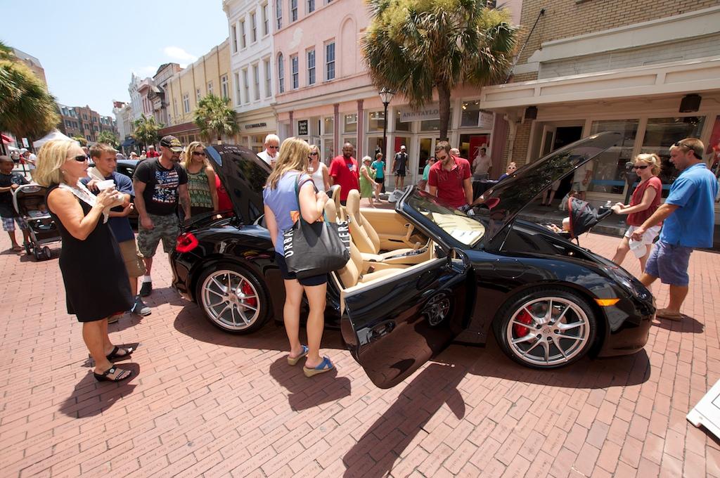 Charleston celebrates launch of all new 2013 porsche for Baker motors jaguar charleston sc