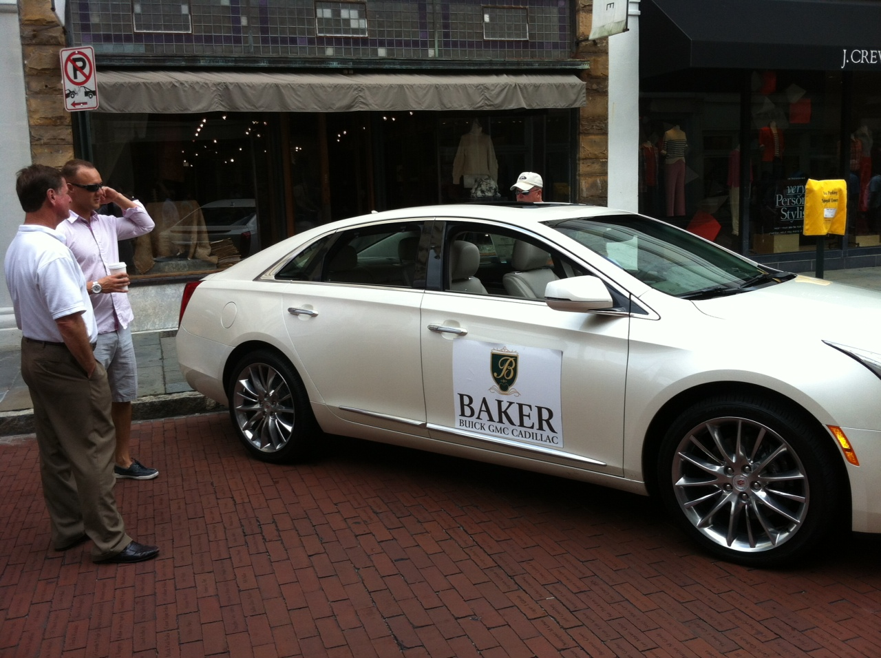 Baker buick gmc cadillac takes to king street for for Cadillac motor car company