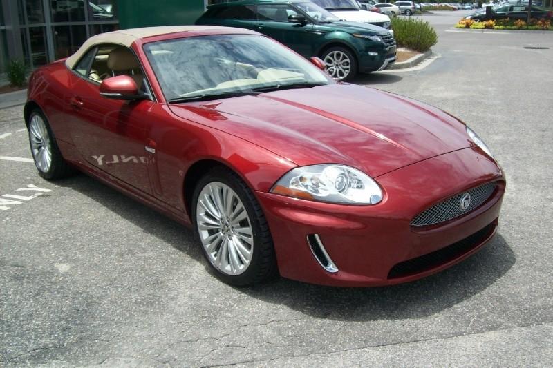 Pre owned vehicle of the week 2010 jaguar xk convertible for Baker motors jaguar charleston sc