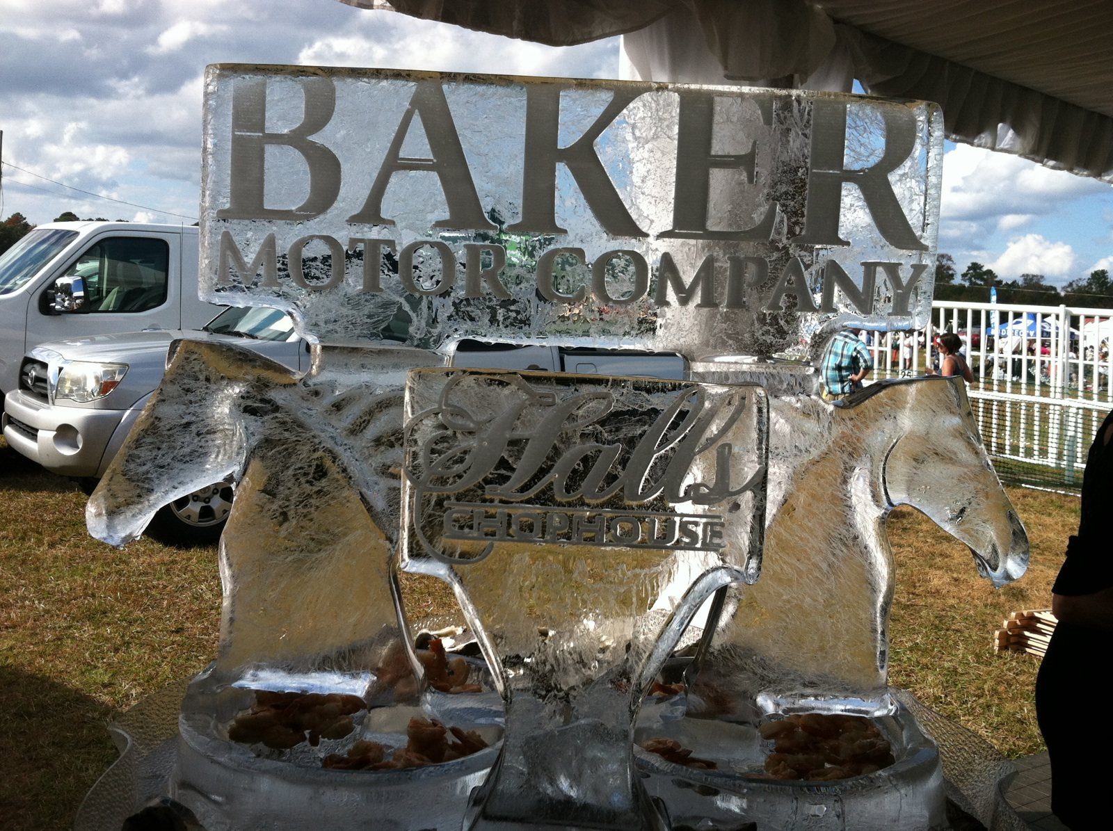 Baker motor company celebrated the charleston cup for Baker motor company land rover