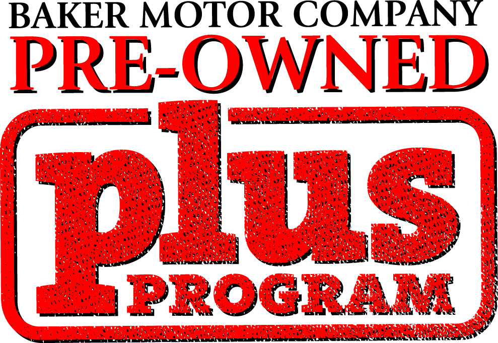 Introducing The Baker Motor Company Pre Owned Plus Program