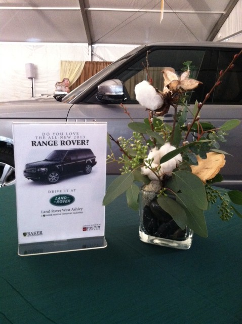 Sneak preview of the land rover west ashley range rover for Baker motor company land rover
