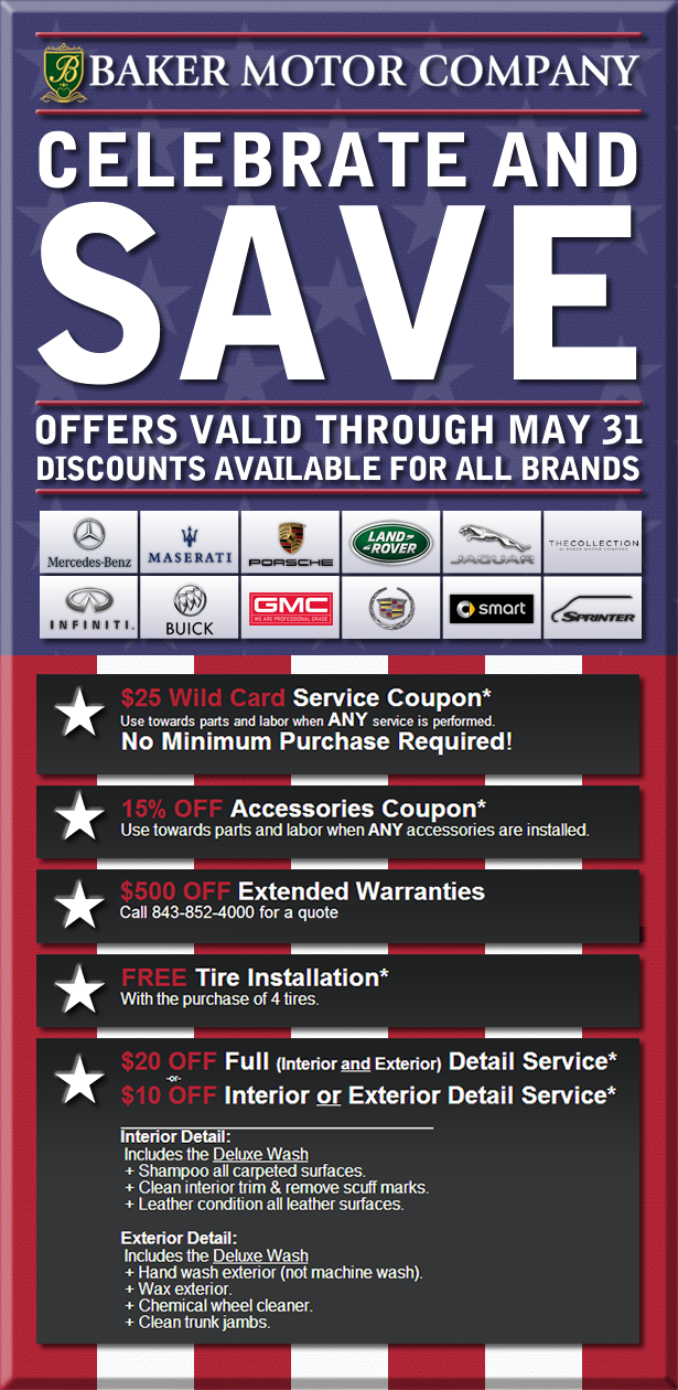 Celebrate And Save At Baker Motor Company This Memorial