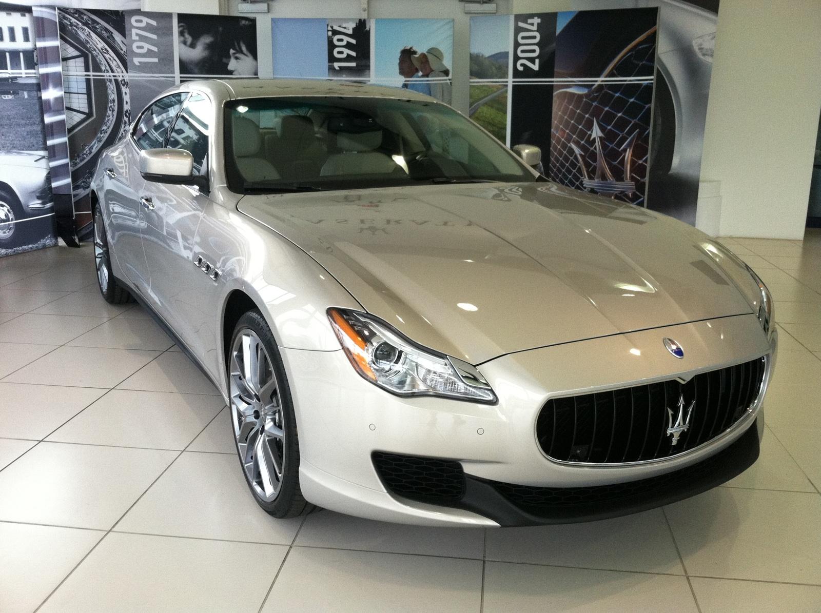 Who Owns Maserati >> 2014 Maserati Quattroporte At Baker Motor Company Today Baker