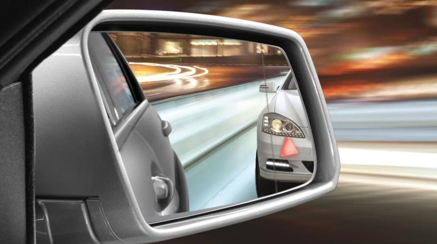 Mercedes Benz Active Blind Spot Assist Technology
