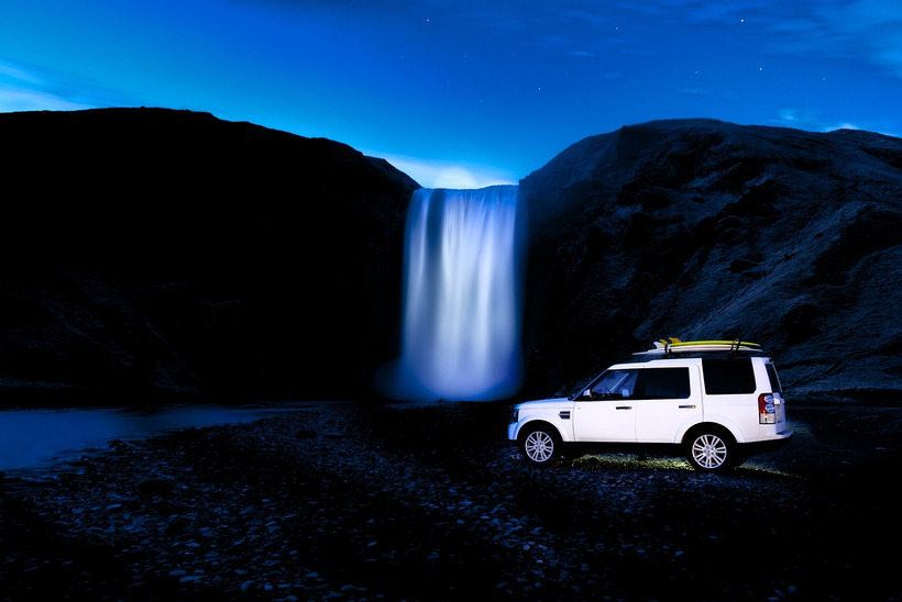 Land rover teams up with photographer lucas gilman for for Baker motor company land rover