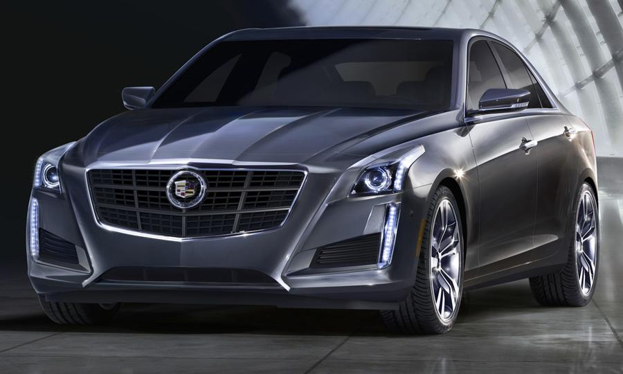 Cadillac cts nominated for north american car of the year for Cadillac motor car company