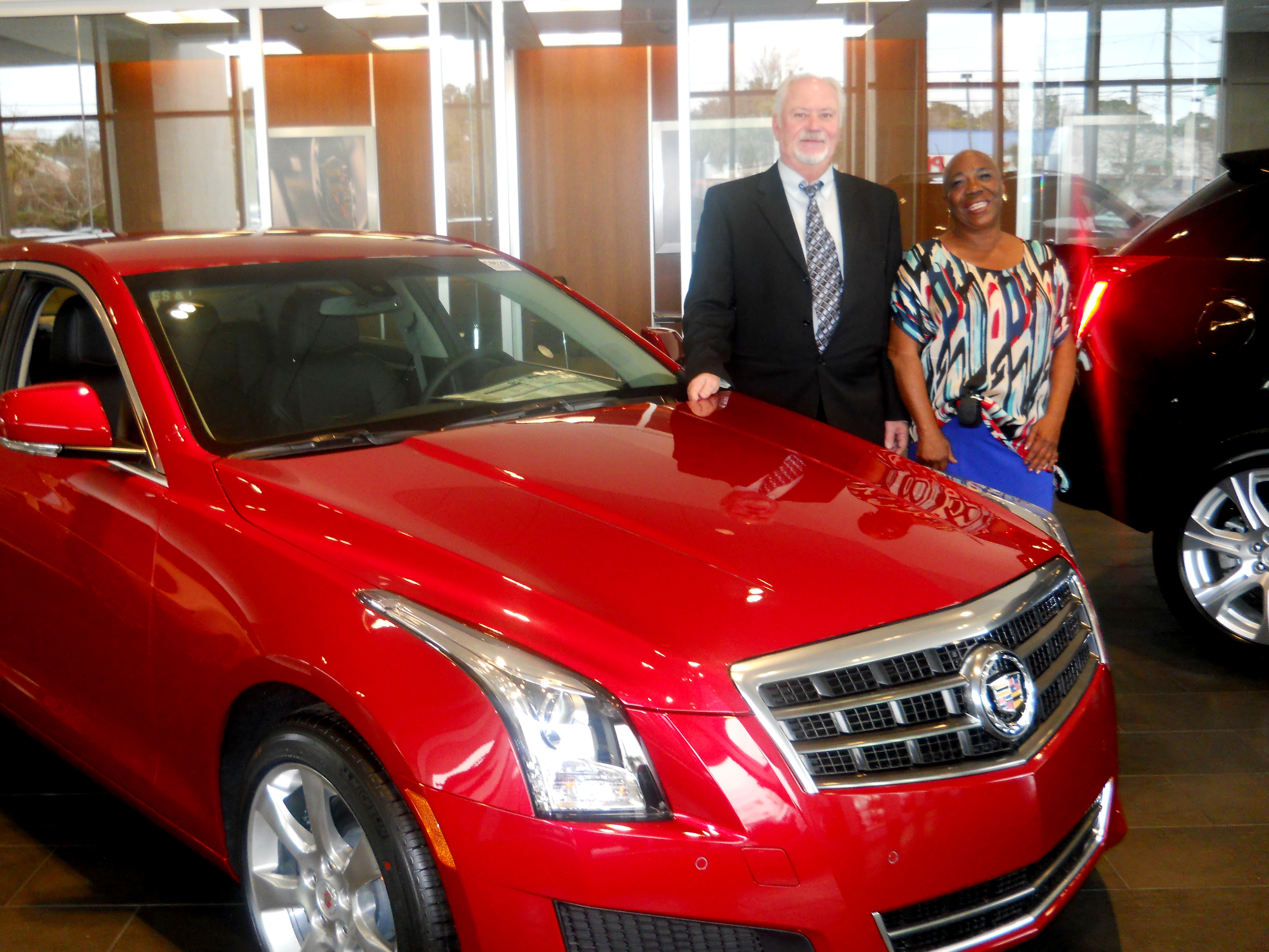 Baker buick gmc cadillac welcomes new sales associates for Cadillac motor car company