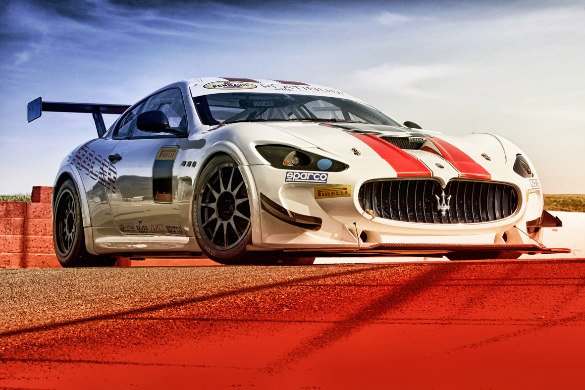 The maserati trofeo arrives in the u s for round 4 of for Baker motors mt pleasant