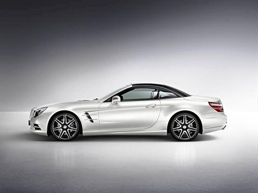 Presenting The 2015 Mercedes Benz Sl550 White Arrow Edition Baker