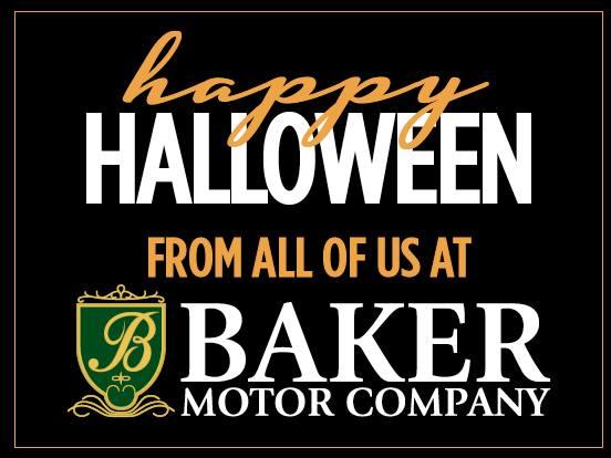 halloween baker motor company