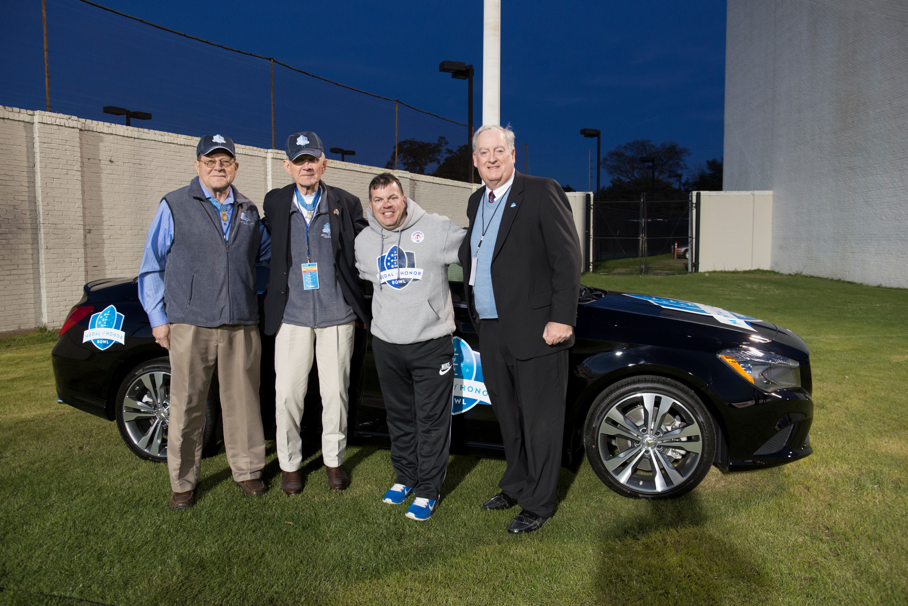 Baker Motor pany Gives Away 2015 Mercedes Benz CLA250 at Medal of