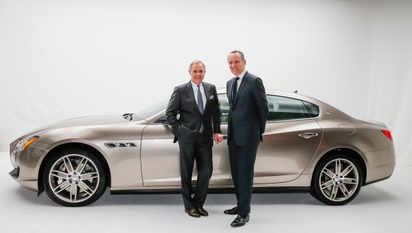LtoR_Harald+J+Wester,+CEO+of+Maserati,+Ermenegildo+Zegna,+CEO+of+Ermenegildo+Zegna+Group_sm